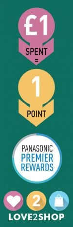 panasonic premier rewards