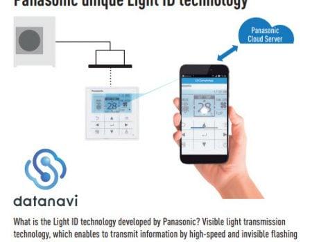 Panasonic Controls CZ-RTC5B with Datanavi